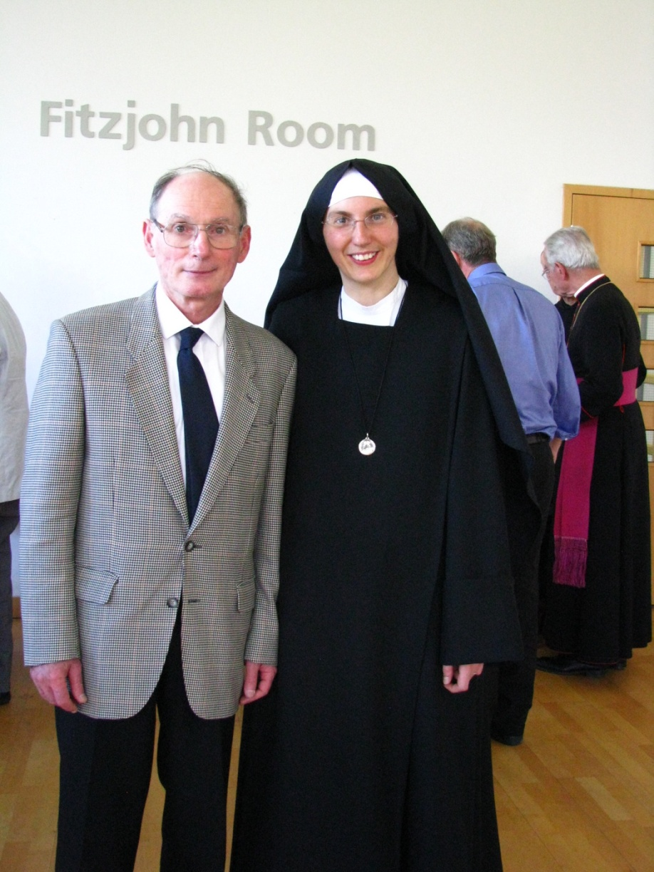 Sr Marie Liesse and her father.
